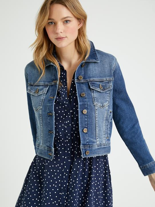 New hope-Damen-Jeansjacke