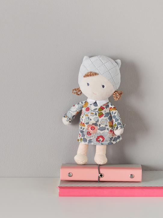 sale-boutique-Interieur-Kinder und Babys Welt-Puppe, Liberty-Stoff