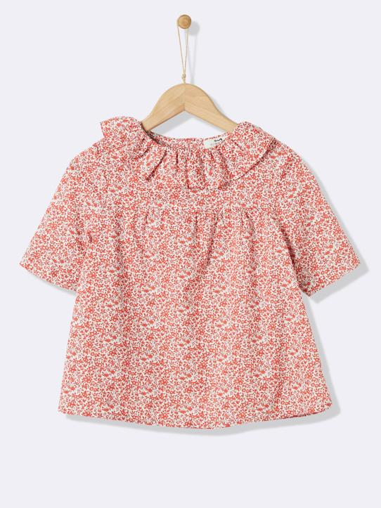 Mississippi-Mädchenbluse, Liberty®-Stoff