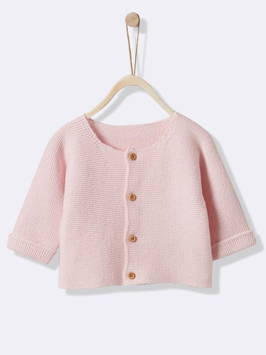 Lovely baby-Baby-Cardigan, Moosstrick