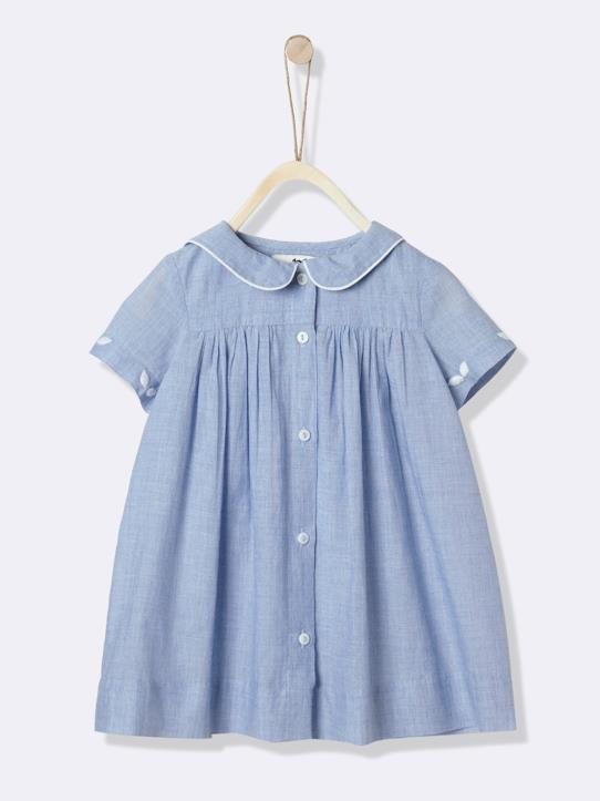 Lovely baby-Babykleid, bestickt