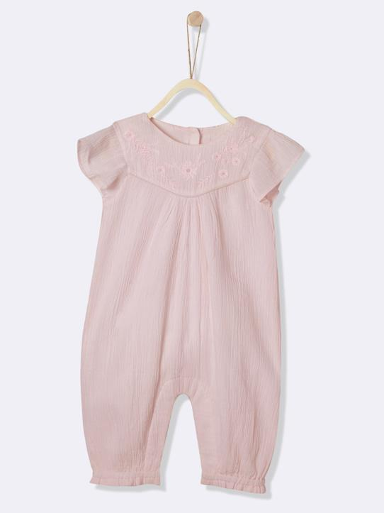 Lovely baby-Babys-Mädchen-Baby-Overall, bestickt