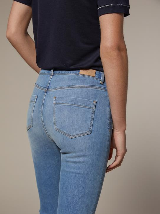 Urban blue-Damen Slim Fit Jeans in 7/8-Länge