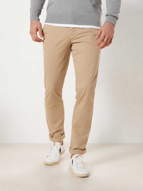 Sport chic-Herren Slim Fit Chinohose
