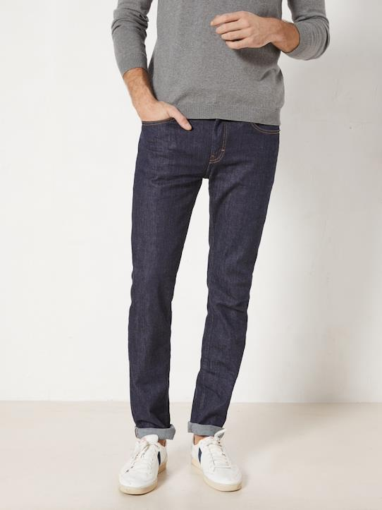Blue and Denim-Herren-Jeans mit Stretch-Anteil, gerade