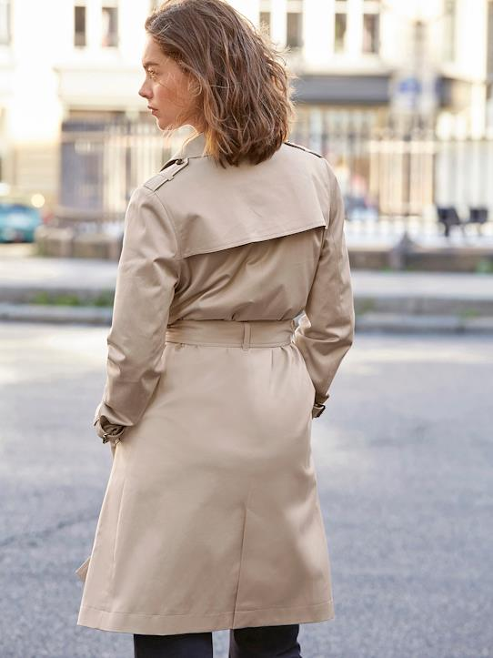 Damen-Trenchcoat Beige
