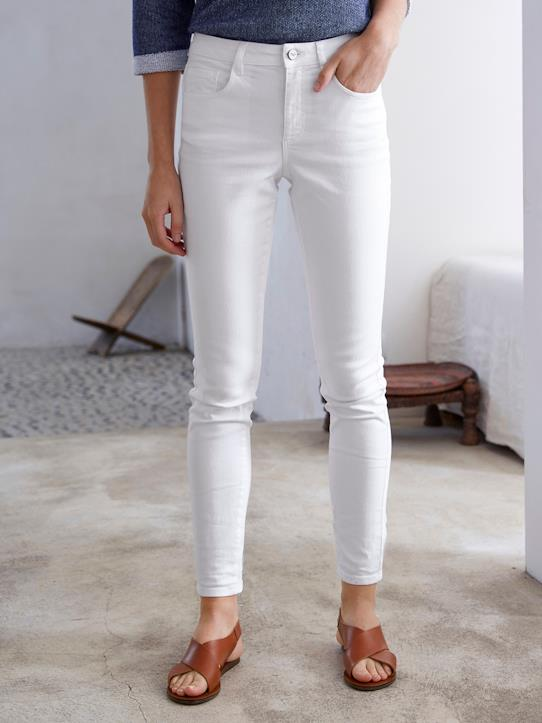 Blue Spirit-Damen Slim Fit Jeans, 7/8-Länge: L'Estival