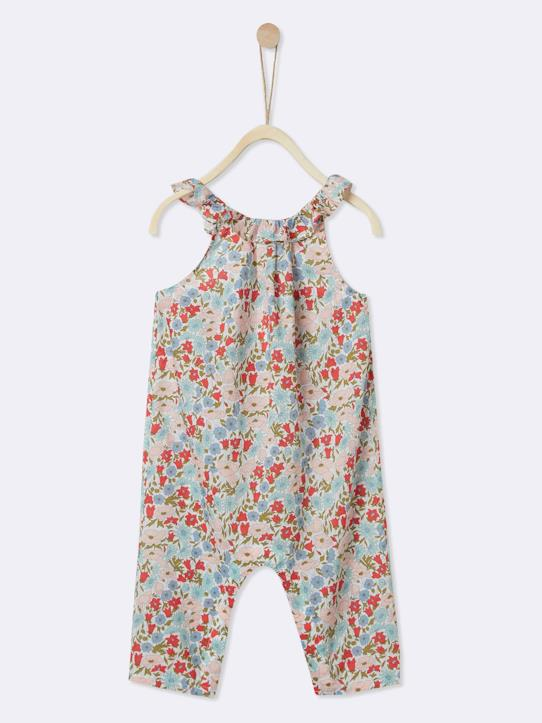 Lovely baby-Babys-Mädchen-Baby-Overall, Liberty®-Stoff