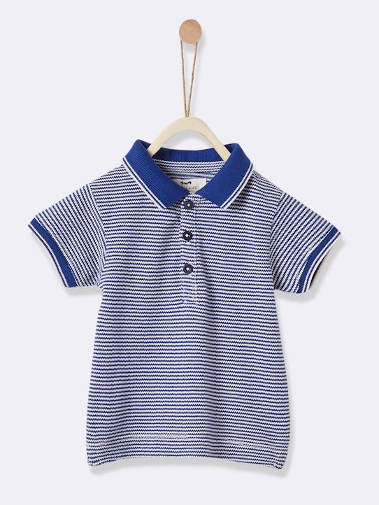 Lovely baby-Babys-Jungen-Baby-Poloshirt, Pikeestrick