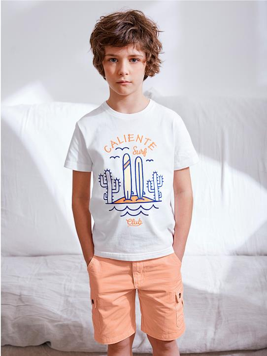 Color Block-Jungen-Jungen T-Shirt