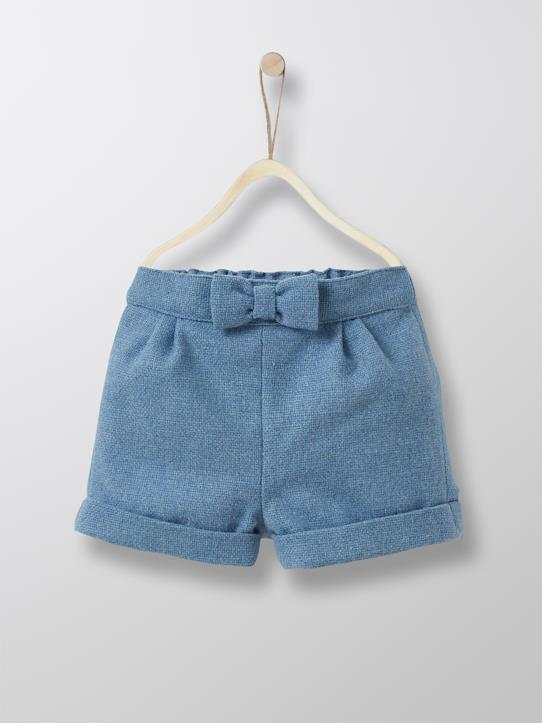 Outdoor-Baby-Shorts, Wolle, Ballonform