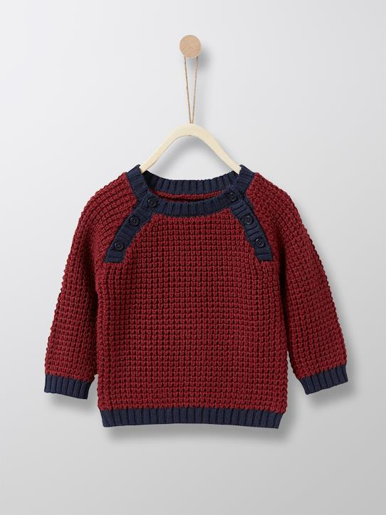 boutique-last-chance-Babys-Jungen-Baby-Pullover, Musterstrick