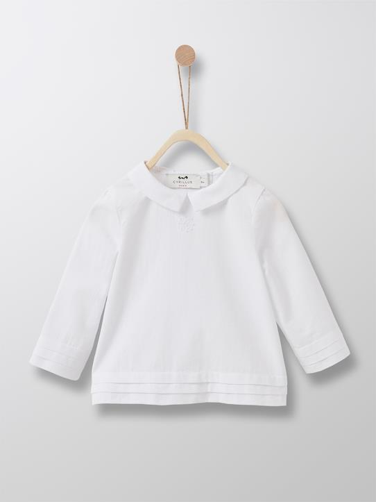 Babys-Baby-Taufbluse