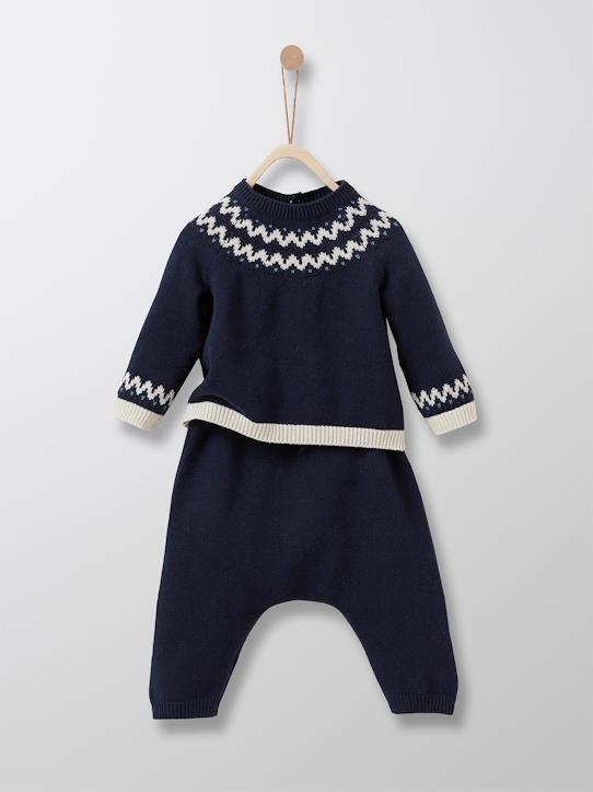Lovely baby-Baby-Set aus Pullover + Pluderhose