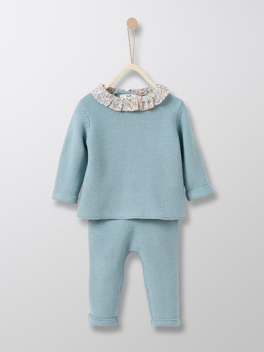 Herbst-Winter Kollektion-Babys-Baby-Set: Pullover + Leggings