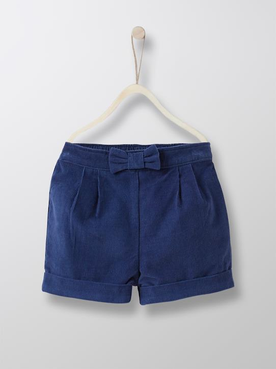 Baby  Dressing-Baby-Shorts, Velours, Ballonform