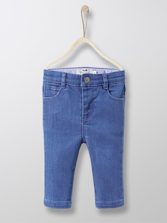 Baby  Dressing-Baby Slim Fit Jeans