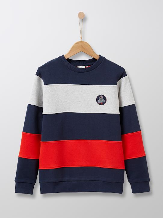 boutique-last-chance-Jungen-Jungen-Sweatshirt, gestreift
