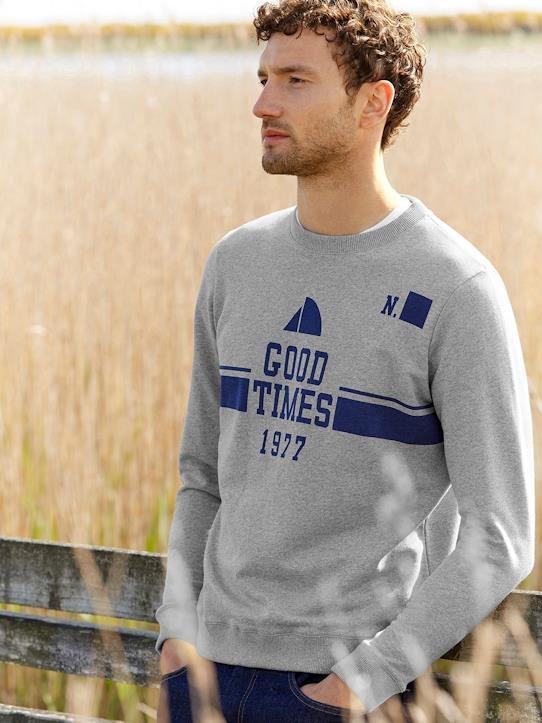 Herren-Pullover, Strickjacken-Herren T-Shirt - Kollektion Good Times 1977