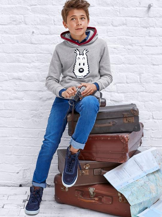 Herbst-Winter Kollektion-Jungen-Sweatshirt, Tim® x Cyrillus
