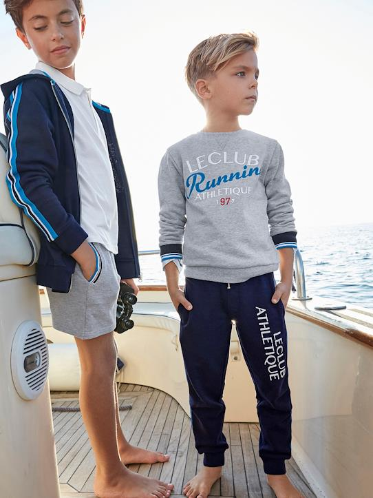 Jungen-Pullover, Strickjacken-Jungen-Sweatshirt, Athletic Club