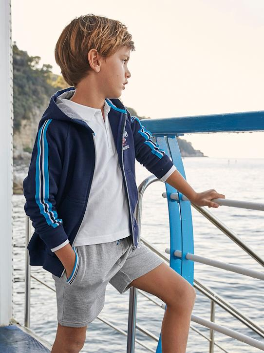 Jungen-Pullover, Strickjacken-Jungen-Sweatjacke, Athletic Club