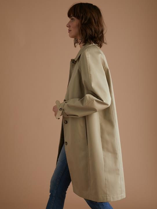 Car Coat Mantel - Klassiker Nr. 6 Beige