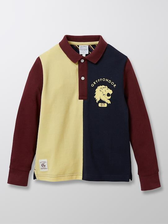 Harry Potter-Jungen-Poloshirt aus Pikeestrick aus der Harry Potter Kollektion