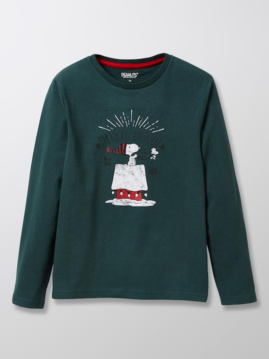 Jungen-Kinder-Shirt Cyrillus X Peanuts® – Collection Snoopy