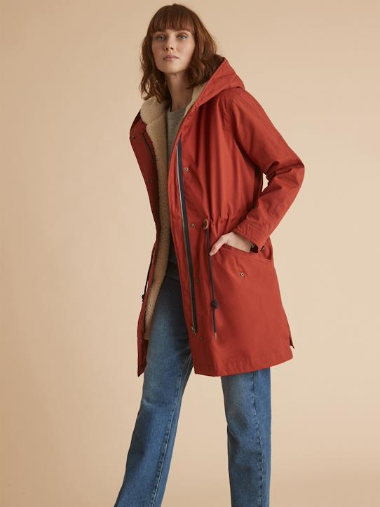 2-in-1-Parka Julia Braun+Khaki