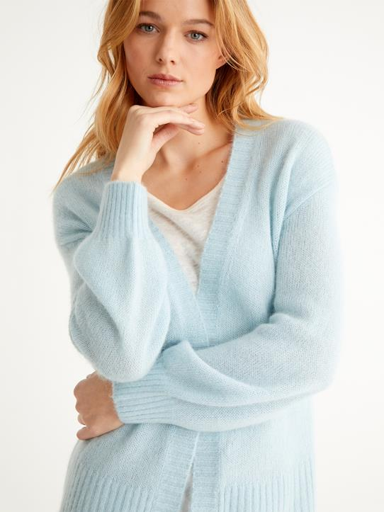 Damen-Pullover, Strickjacken-Weicher Damen-Cardigan